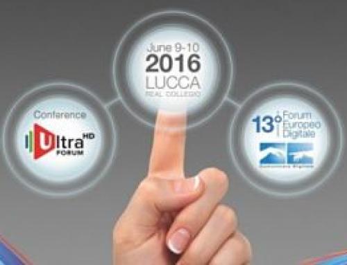 Lucca reunirá a expertos para debatir sobre Ultra HD