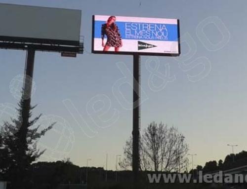 Monopostes Digitales LED para el Circuito Publicitario de IEPE – Madrid y Barcelona