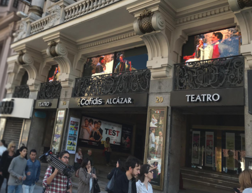 Teatro Cofidis | Pantallas de fachada
