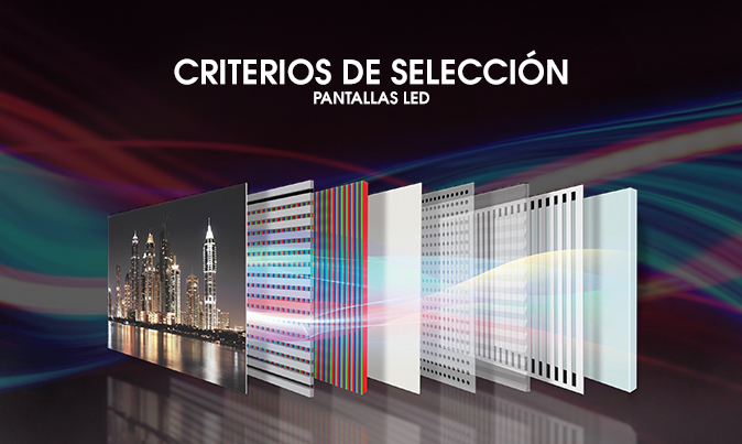 seleccion pantalla led